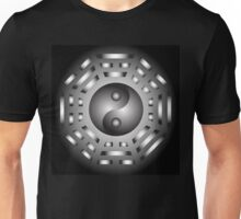 Yin and Yang and bagua Unisex T-Shirt