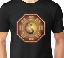 Yin and Yang and bagua Unisex T-Shirt