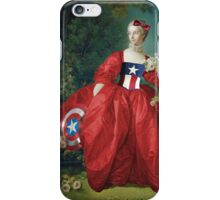 Captain America, 18th Century Style iPhone Case/Skin