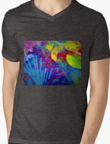 Secret flower party Mens V-Neck T-Shirt