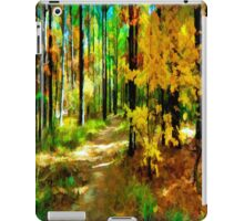 Deep In The Woods of Light & Color iPad Case/Skin