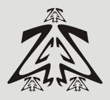 Ancestral Symbol-Forest by NaranjaElPesca