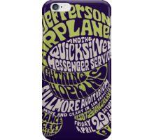 Fillmore: JEFFERSON AIRPLANE iPhone Case/Skin