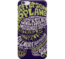 Fillmore: JEFFERSON AIRPLANE iPhone Case/Skin