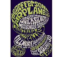 Fillmore: JEFFERSON AIRPLANE Photographic Print