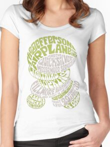 Fillmore: JEFFERSON AIRPLANE Women's Fitted Scoop T-Shirt