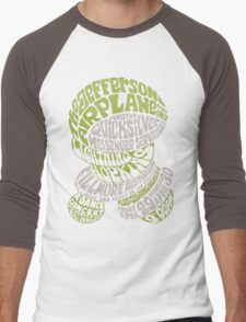 Fillmore: JEFFERSON AIRPLANE Men's Baseball ¾ T-Shirt