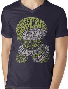 Fillmore: JEFFERSON AIRPLANE Mens V-Neck T-Shirt