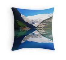 Lake Loiuse June 2008 Throw Pillow
