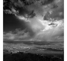 Walking North - photograph Photographic Print