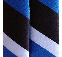 Blueblackwhite Photographic Print
