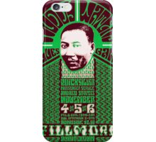 Fillmore: MUDDY WATERS iPhone Case/Skin