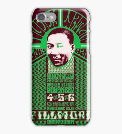 Fillmore: MUDDY WATERS iPhone Case/Skin