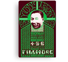 Fillmore: MUDDY WATERS Canvas Print