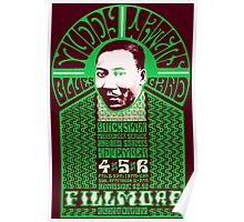 Fillmore: MUDDY WATERS Poster
