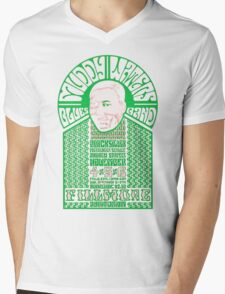 Fillmore: MUDDY WATERS Mens V-Neck T-Shirt