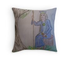 The High Priestess Throw Pillow