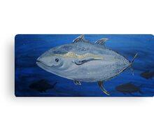 Tuna Fish Canvas Print