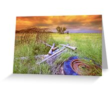 Stormy Day`s Greeting Card