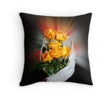 Giving You Rouses Throw Pillow
