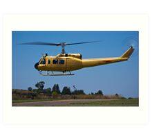Bell 205 - Bell UH-1D-BF Iroquois Art Print
