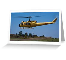 Bell 205 - Bell UH-1D-BF Iroquois Greeting Card