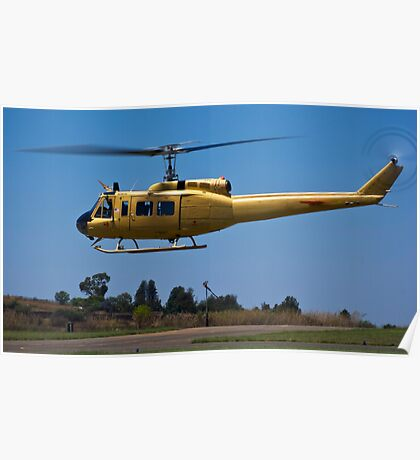 Bell 205 - Bell UH-1D-BF Iroquois Poster