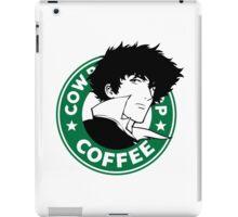 Cowboy Bebop X Starbucks Inspired Illustration. iPad Case/Skin