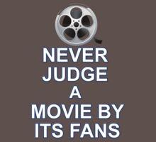 Never Judge A Film One Piece - Short Sleeve