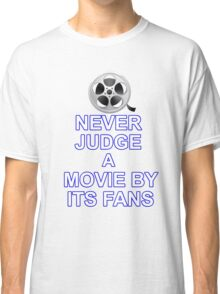 Never Judge A Film Classic T-Shirt