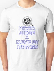 Never Judge A Film Unisex T-Shirt