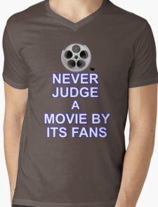 Never Judge A Film Mens V-Neck T-Shirt