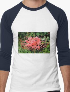 Red Spider Lily Men's Baseball ¾ T-Shirt
