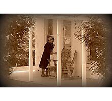 Saturday Chores Photographic Print