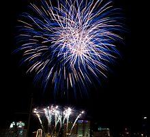 Norfolk Harborfest Fireworks by Andreas Mueller