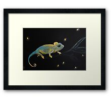 Little Dreamer-Chameleon Framed Print
