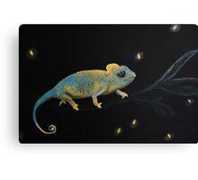 Little Dreamer-Chameleon Canvas Print