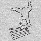 Primate Skate  outline by Jordan Duff