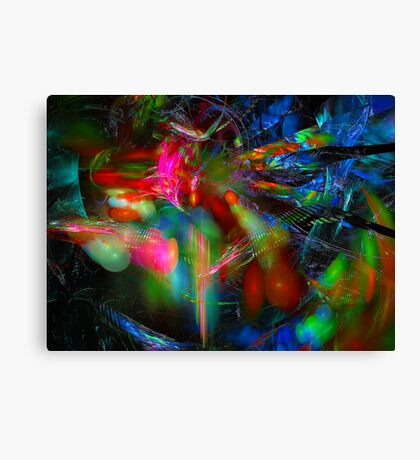 Explosion of Forces Canvas Print