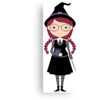 The Nerd Witch Canvas Print