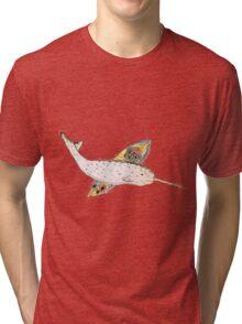 Gnarlywhal Tri-blend T-Shirt