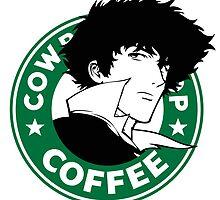 Cowboy Bebop X Starbucks Inspired Illustration. by fauxbucks