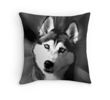 """""""Look into My Eyes"""" Throw Pillow"""
