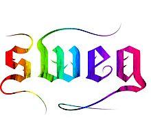 rainbow sweg  Photographic Print