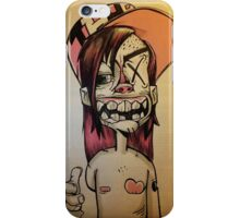YOZ, the young outlaw zombie iPhone Case/Skin