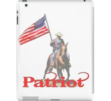 Mounted Patriot  iPad Case/Skin