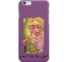Now I See the Light iPhone Case/Skin