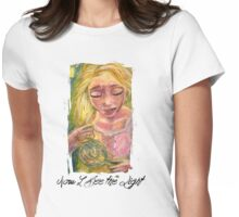 Now I See the Light Womens Fitted T-Shirt