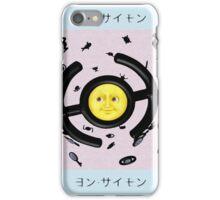 Unown Moon Emoji iPhone Case/Skin