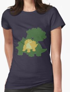 Tree Turtle Womens Fitted T-Shirt